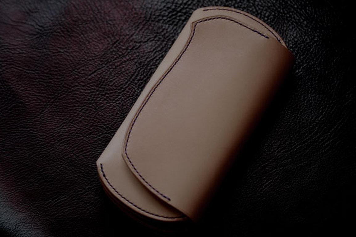ヘビインレイ財布