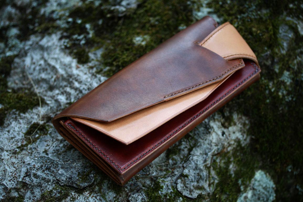 新たしい構造の財布