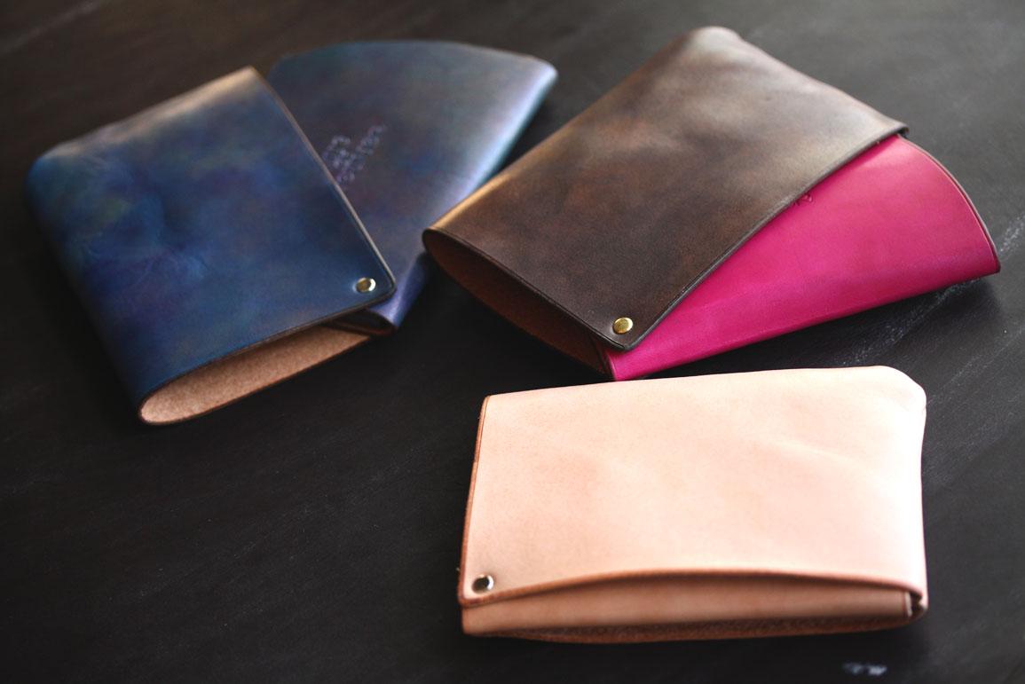 まったく新しい形の財布