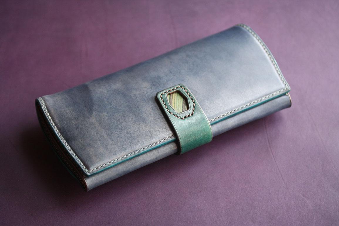 スキモレザー財布