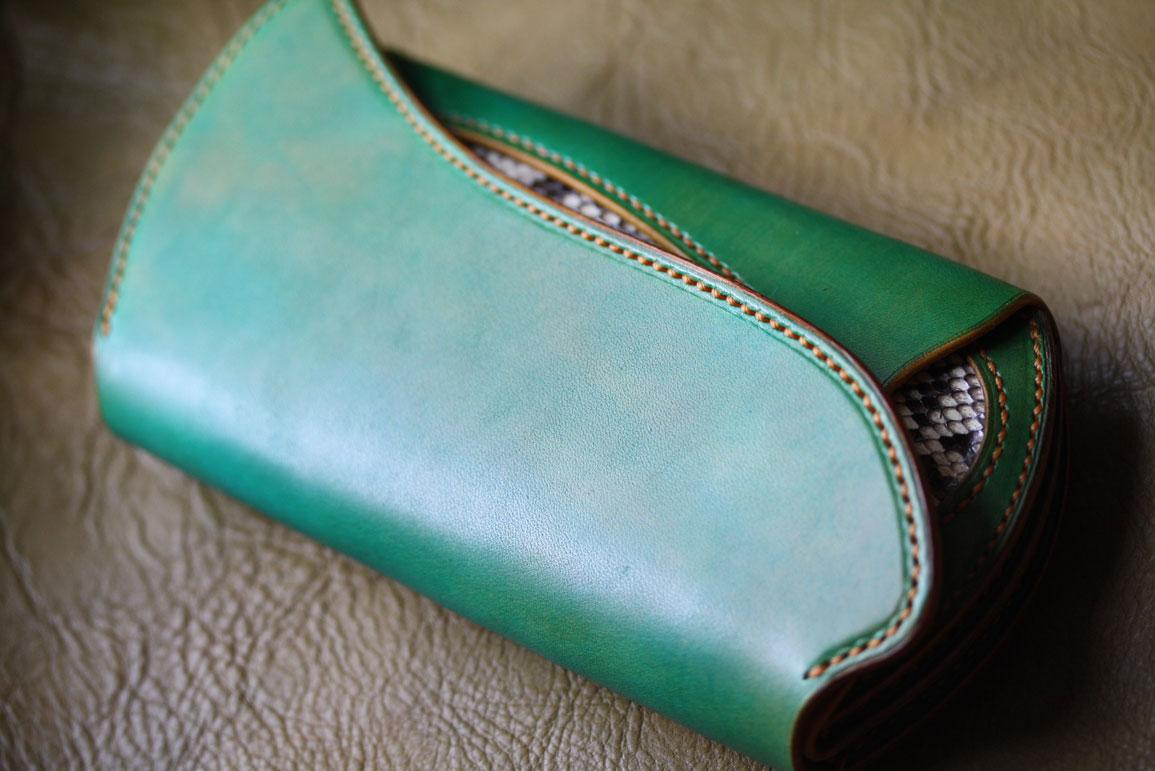グリーン財布