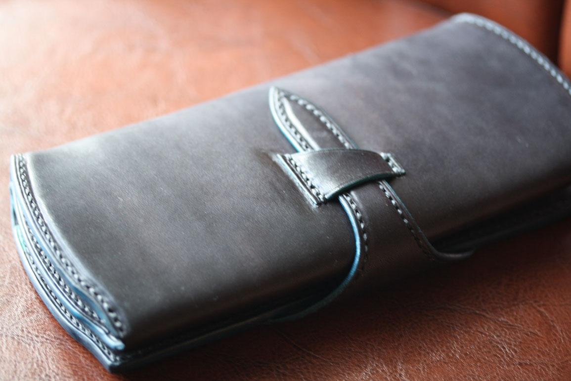 ブラックブルーバルト財布