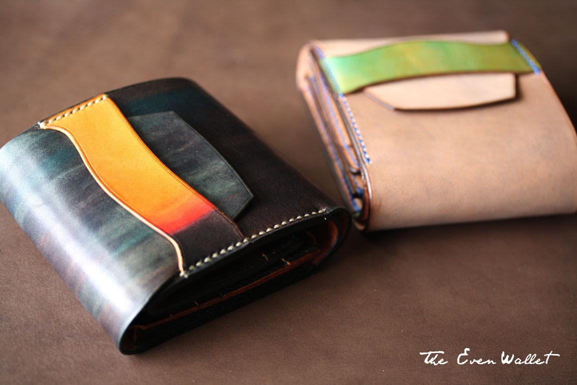 個性的折り財布