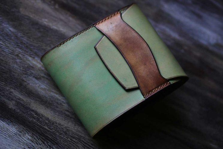 ミント折財布