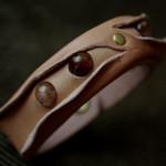 The Leather Quartz Bracelet ナチュラル