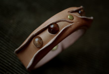 The Leather Quartz Bracelet ナチュラル