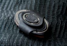 The Egg Key Case ブラック ダイヤモンドパイソン