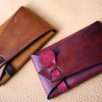 The SAI Cardcase ブラウン レッド