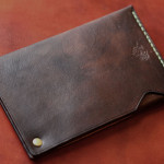 The Army Cardcase ブラウン