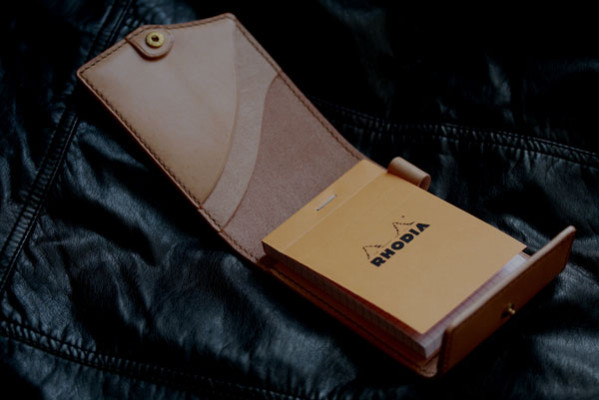 RHODIA×KING OF LEATHER ナチュラル