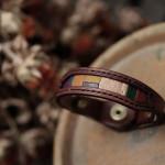 The Inlay Bracelet ブラウン