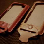 iPhoneケース ナチュラル ピンク