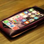 iPhoneケース バイオレット