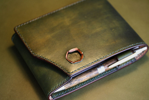 RHODIA×KING OF LEATHER グリーン