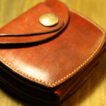 The Wing of beetle Wallet エイジング