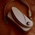 The Leather Armor wallet ナチュラル