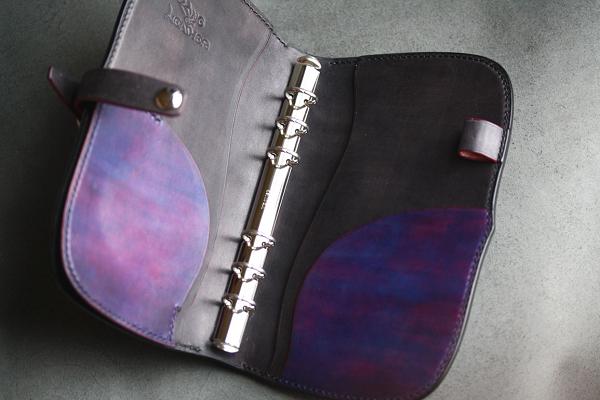 The Leaf Notebook バイオレット
