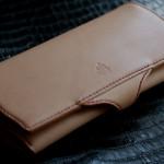 The Napoleon wallet Stylish ナチュラル×バイオレット