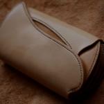 The Peafowl wallet ナチュラル×イエロー