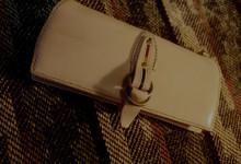 The Napoleon wallet Gorgeous ナチュラル×グリーン