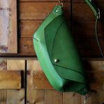 The Curve Shoulder Bag エルバマット 黄緑