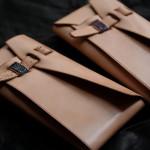 The Orikawa wallet ナチュラル エイ革