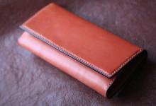 オレンジ財布