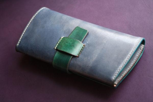 スキモレザーインレイ財布