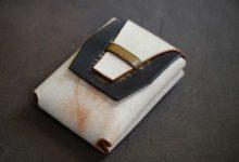The Mammoth Cardcase ホワイト×ブラック