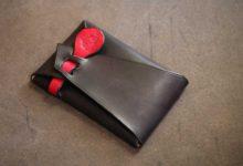 The SAI Cardcase ブラック×レッド