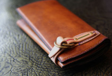 The Napoleon wallet Gorgeous ブラウン×ブルー