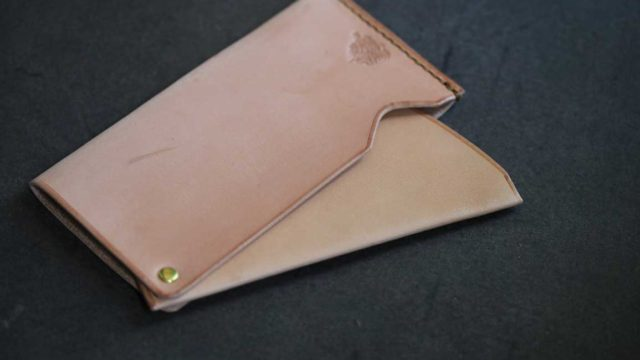 The Army Cardcase ナチュラル