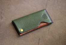 The Army Toothpick Case グリーン×ブラウン