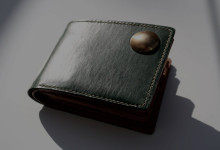 The Square Wallet グリーン
