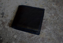 The Square Wallet ブラック
