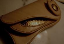The Lion's Back wallet ナチュラル コブラインレイ