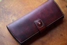 The Napoleon wallet Stylish レッド