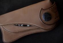The Lion's Back wallet ナチュラル ダイヤモンドパイソンインレイ
