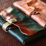 The New-Old wallet ナチュラル×ブラック×アースフラッシュ