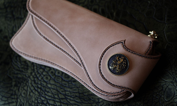 The Lion's Back wallet ナチュラル