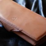 The Napoleon wallet Stylish  ナチュラル×ブラウン
