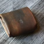 The Seaglass Wallet 苔ゴールド