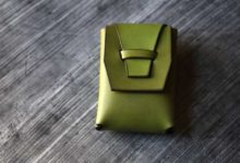 The Mammoth Cardcase 黄緑