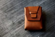 The Mammoth Cardcase シボブラウン