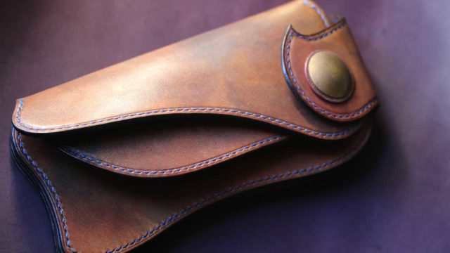The Lion's Back Wallet 真鍮カラー