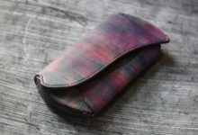 The Peafowl Wallet バイオレット閃光
