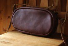 The Oval Shoulder Bag ミネルバボックス タバコ(カラー)