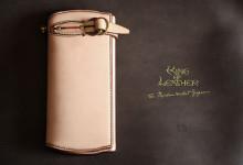 The Napoleon wallet Gorgeous ナチュラル×ブラウン