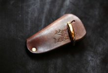 The drop of a palm Keycase 真鍮