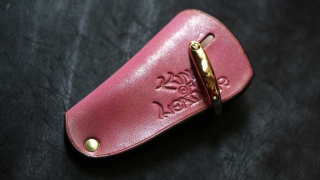 The drop of a palm Keycase ピンク